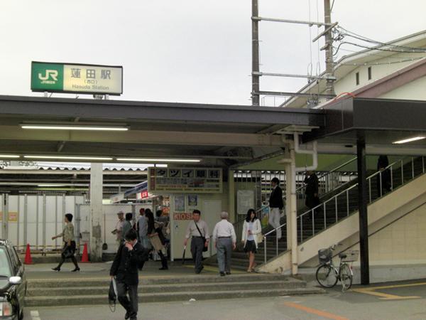 蓮田駅西口