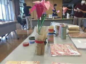 2021年5月25日(火)~職員交流会「折り紙」~